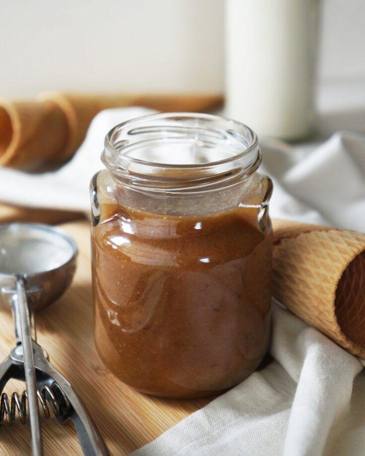 Healthy Cinnamon Salted Caramel | Vegan