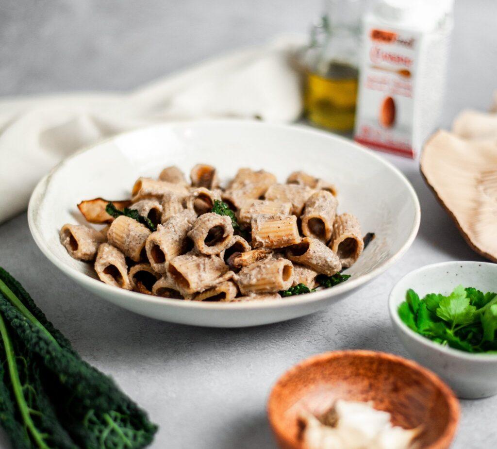 Creamy Mushroom Pasta 3